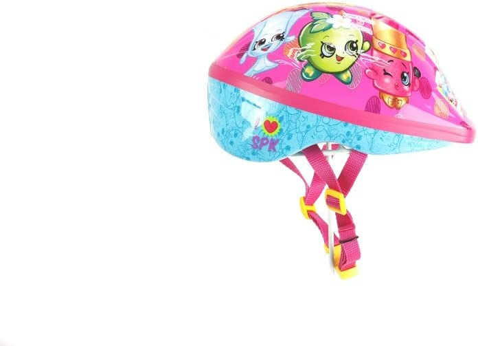 Shopkins 2D Bike Helmet, Multicolor