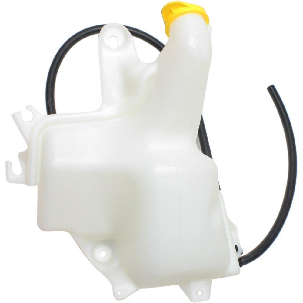 Evan-Fischer EVA118063015205 New Direct Fit Coolant Reservoir Expansion Tank for Ram 2500/3500 P/U 10-15 P/U W/Cap Plastic