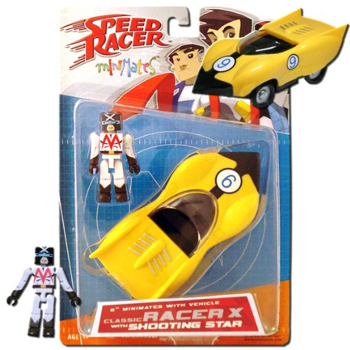 Speed Racer Series 1 Minimates Racer X with Race Car