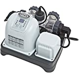 Intex 120V Krystal Clear Saltwater System CG-28667 with E.C.O. (Electrocatalytic Oxidation) for Above Ground Pools