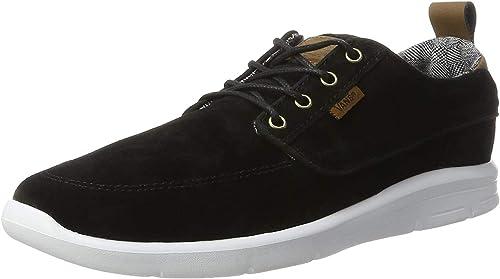 Vans Brigata Lite (S&L) blackwhite: Amazon.es: Zapatos y