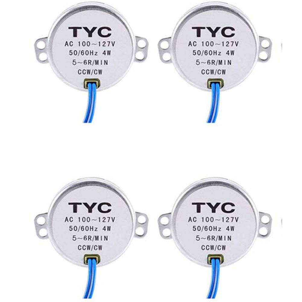 10pack-2.5-3RPM 2//4//6//8//10pcs Electric Synchron Motor Turntable Synchronous Motor AC 100-127V for School Project Microwave Oven