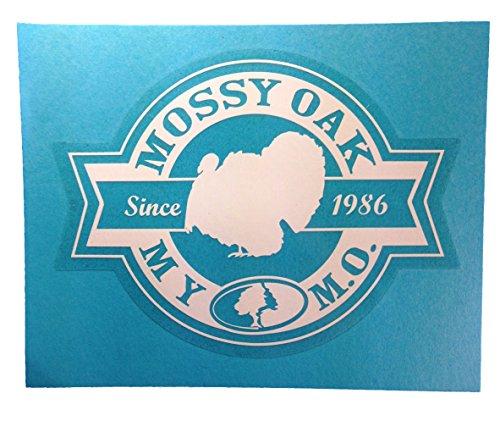 Mossy Oak Camo Window Decal Sticker 4 X 6 Mossy Oak Camo Turkey Window Decal (Plus Free Bonus Decal) Mossy Oak Atv
