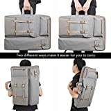 Tanchen 4K Canvas Artist Portfolio Carry Shoulder