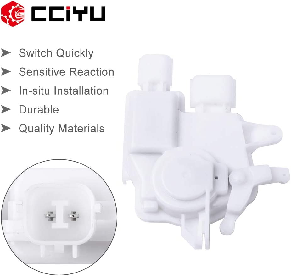 cciyu Rear//Front Right Door Lock Actuators Door Latch Replacement Fits for 2005-2009 Legacy 2005 Outback 759-045 2PCS