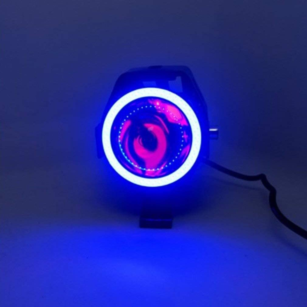 Sunnyday 25W 12V moto phare 3000LM moto projecteur U7 LED conduite brouillard spot lumi/ère d/écorative lampe