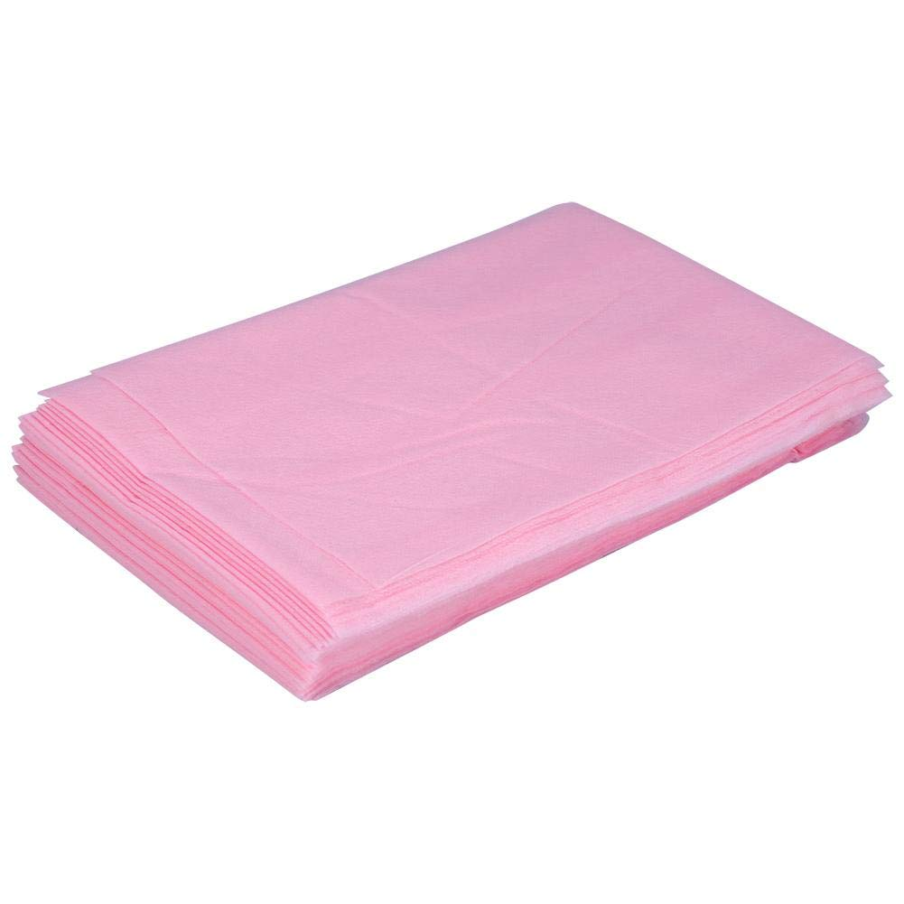 White Spa Large 70.86 * 31.49 Hospitals or Tattoo Table Beauty Non-Woven Waterproof Bed Sheet Massage Beauty Cover for Massage 10pcs Disposable Bed Pads