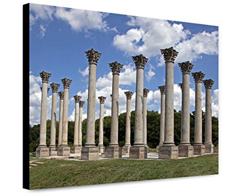 ClassicPix Canvas Print 12x15: National Capitol Columns, View 1, United States National (National Capitol Columns)