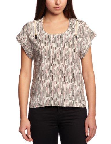 Vero Moda - Camiseta de manga corta para mujer Varios colores (Oatmeal/Aop Doi Print)