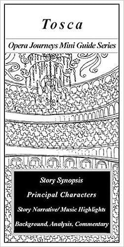 Book Tosca/the Opera Journeys Mini Guide Series