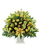 Memory Full Of Joy - Same Day Funeral Flowers Delivery - Condolence Flowers - Flowers For Funeral - Funeral Flower Arrangements - Funeral Plants