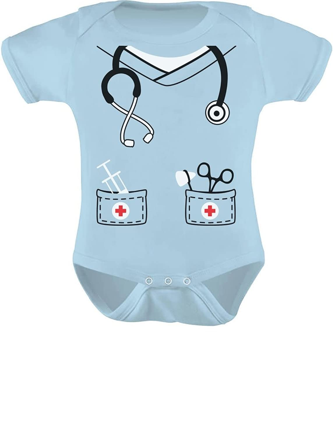 Amazon.com: Infant Doctor, Nurse, Physician Halloween Easy Costume ...
