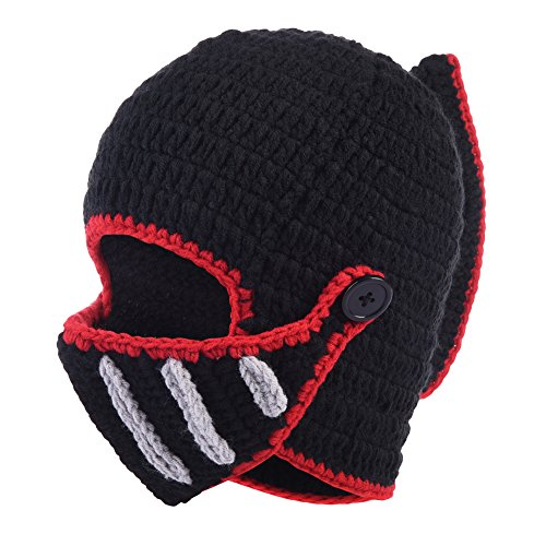 Vbiger Beard Hat Beanie Caps Knit Hat Winter Warm Octopus Hat Windproof Funny For Men&Women (Roman (Funny Caps)