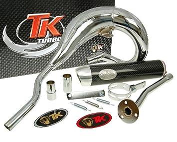 Turbo Kit - Escape Turbo Kit Bufanda Rq Chrome - Aprilia Rx 50 99-05