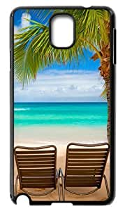 Durable Hard Case Samsung Galaxy Note3 N9000 Beach Chairs Back Cases