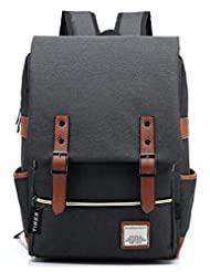 Tibes Cool Style Daypack School Backpack Oxford Fabric Backpack for High School/College Student