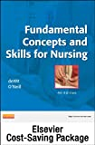 Fundamental Concepts and Skills for Nursing- Text and Mosby's Nursing Video Skills - Student Version DVD 3. 0 Package, deWit, Susan C. and Mosby, 1455774154