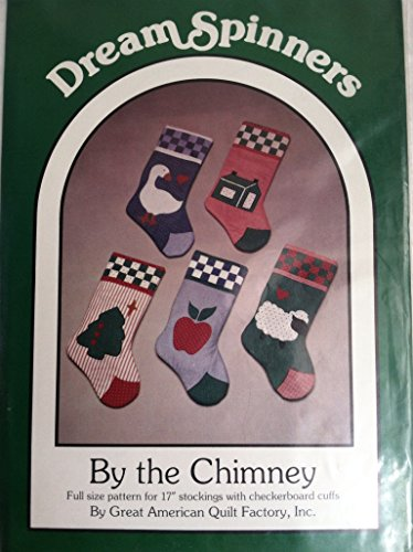 By the Chimney Stockings - Great American Quilt Factory Dream Spinners Pattern for 17