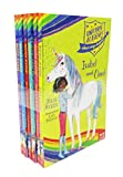 img - for Unicorn Academy Where Magic Happens Series Collection 6 Books Set (Ava and Star, Isabel and Cloud, Sophia and Rainbow, Scarlett and Blaze, Olivia and Snowflake, Layla and Dancer) book / textbook / text book