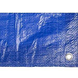 Toldo reforzado gramaje 90 grs, 3 x 2 m, color azul – Catral 560110