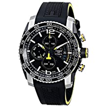 Tissot T-Sport T0794272705701 44mm Automatic Stainless Steel Case Black Silicone Anti-Reflective Sapphire Men's Watch