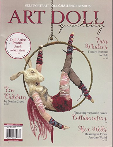 Art Doll Quarterly Magazine November/December/January 2018