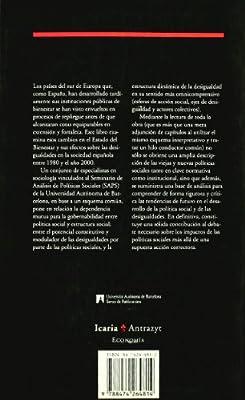 Cambios en el estado del bienestar: Políticas sociales y desigualdades en España Antrazyt: Amazon.es: Adelantado Gimeno, José: Libros
