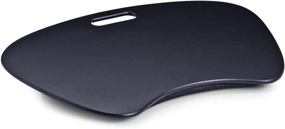 Zeller 13000 Bandeja para Ordenador Port/átil MDF Negro 59x40x6 cm
