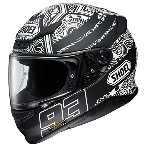 Shoei Racing Helmets - Shoei RF-1200 Marquez Digi-Ant Street Bike Racing Motorcycle Helmet - T5/Medium