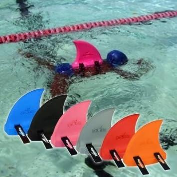 SwimFin - Flotador para niño, diseño de aleta de tiburón: Amazon.es: Deportes y aire libre