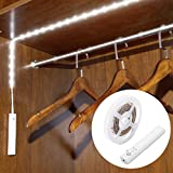 Motion Sensor Closet Light, WILLED Motion Activated Under Cabinet Light with Dual Mode, Stick-on Anywhere Wireless Battery Operated Flexible LED Strip Night Light for Stair, Crib Baby Bed