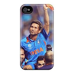 New Style Case Cover Ayk312NAIM Sachin Tendulkar God Of Cricket Compatible With Iphone 4/4s Protection Case