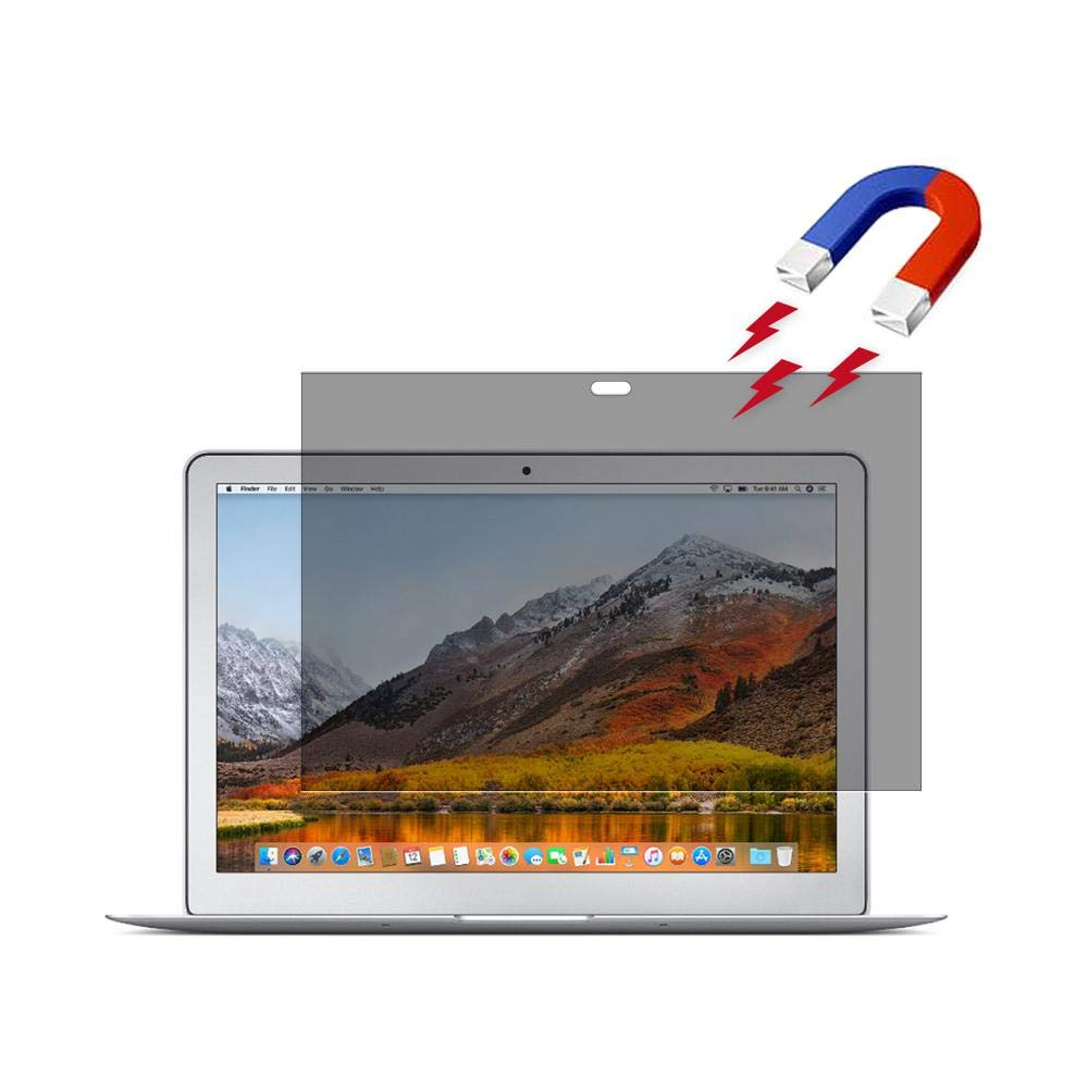 Womdee Privacy Screen Protector for MacBook, Magnetic Anti-spy Privacy Screen Filter Protector, Easy Attach and Removal, Compatible for MacBook Air 13.3 by Womdee (Image #1)