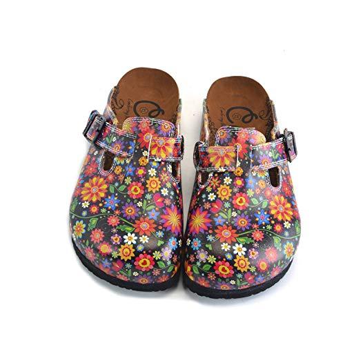 Flower Garden Clogs WCAL357