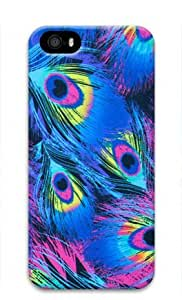 Peacock Paradise Iphone 5 5S Hard Protective 3D Cover Case by Lilyshouse