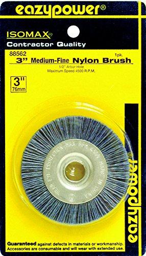 Eazypower 88562 Key Machine Nylon Wheel Medium/Fine for 1/2