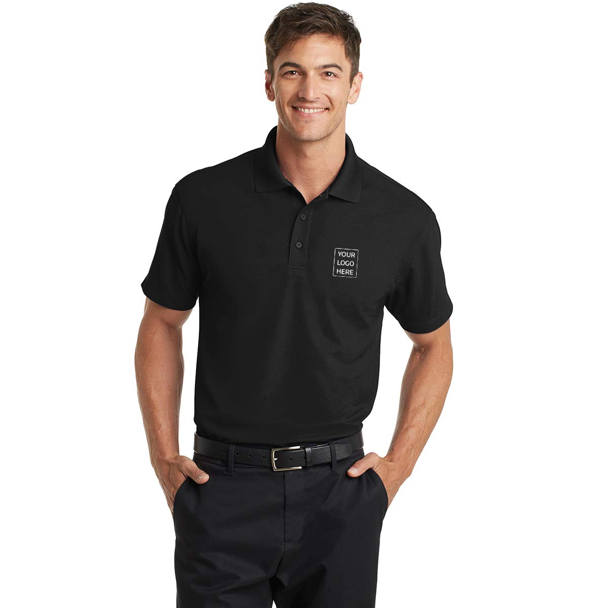 Promotional Product Your Logo Dry Zone Grid Polo 35.82 Each 6 Qty
