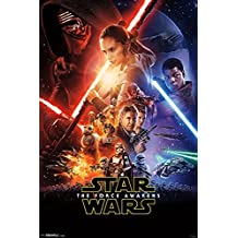 """Trends International RP14353 Star Wars: The Force Awakens One Sheet 22.375"""" X 34"""" Wall Poster"""