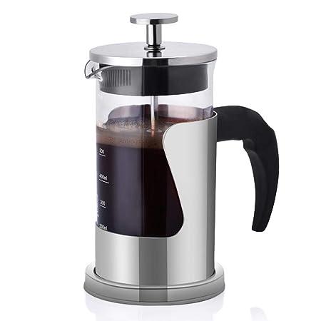 Fdit cafetera de pistón cafetera de presión Manual portátil ...