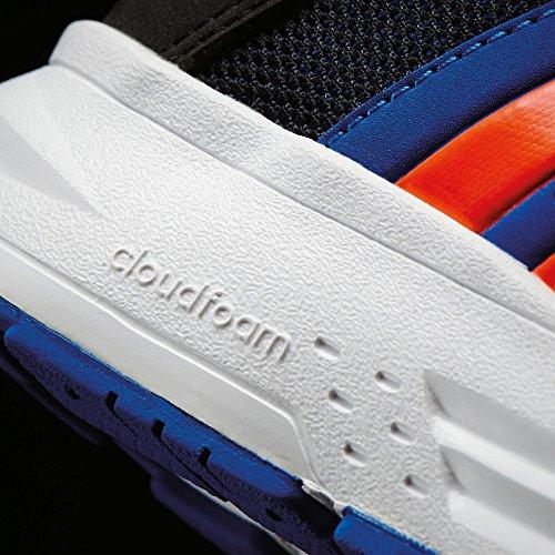 adidas CLOUDFOAM SATURN K - Zapatillas de deportepara niños, Negro - (NEGBAS/ROJSOL/AZUL), 4