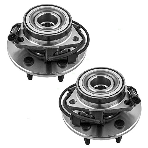 DTA Front Wheel Bearing & Hub Assemblies Left and Right NT515091 NT515092 Fit Astro Safari AWD Only