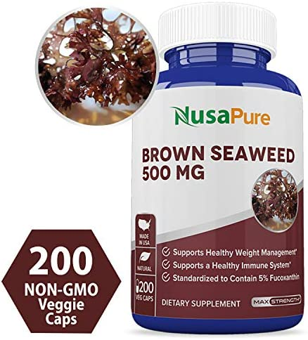 Seaweed Extract Capsules NON GMO Gluten product image