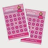 3 sets of 16 Princess Party Bingo