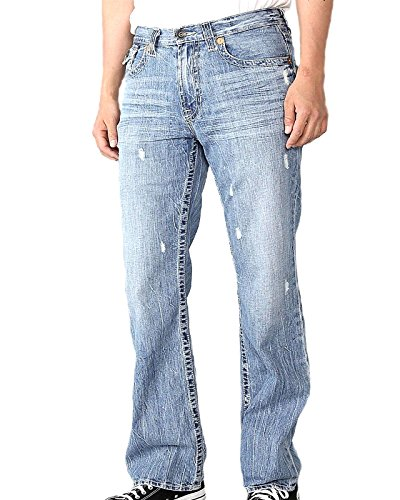 Big Star Men's Pioneer Regular Boot Cut Jeans in Hinesville (33 X L) (Star Bootcut Jeans Big)