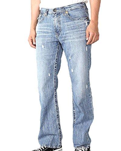 Big Star Men's Pioneer Regular Boot Cut Jeans in Hinesville (33 X L) (Star Big Bootcut Jeans)