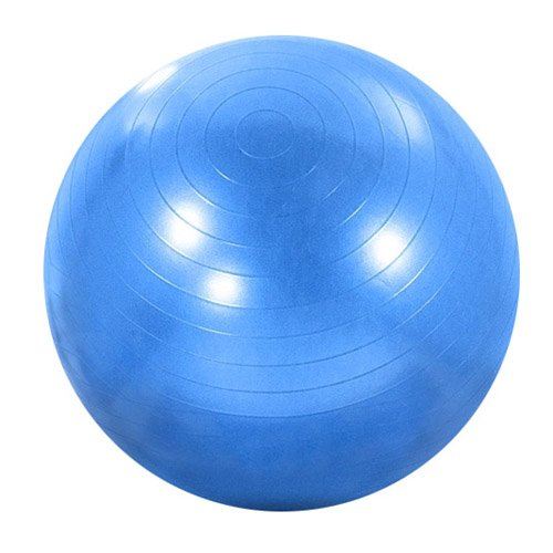 Owfeel Exercise Gym Yoga Ball Fitness Extra Strong Anti Burst Ball 65cm Blue