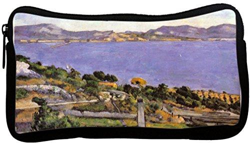 Paula Writing Desk - Rikki Knight Paul Cezanne Art L'Estaque Vue Du Golfe De Marseille Neoprene Pencil Case (dky-Neo-pc3390)