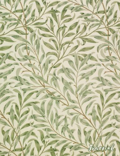 Journal: Vintage Art Nouveau Leaves Print | 150 College-ruled Pages | 8.5 x 11 - A4 Size (Vintage Floral Designs)