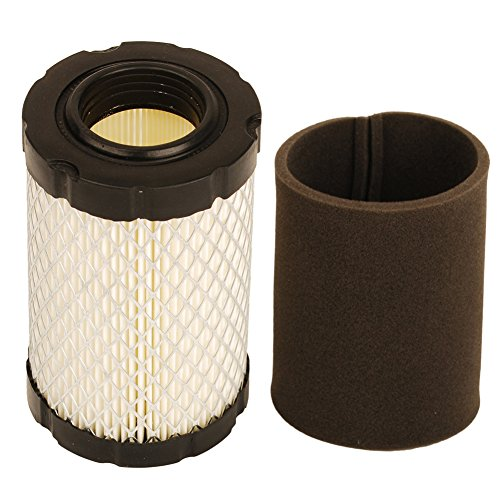 HIFROM Air Filter with Pre Filter for Briggs and Stratton 796031 594201 591334 Pre Filter 797704 Replace John Deere MIU1303 GY21435 MIU13963