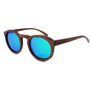 HAOYUXIANG / Mode / Holzrahmen / Holzbeine / Polarisierte / Holz Sonnenbrillen,Green